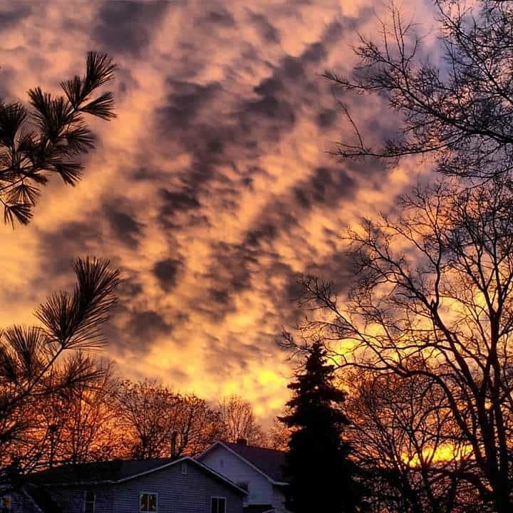 Sky looking wicked!