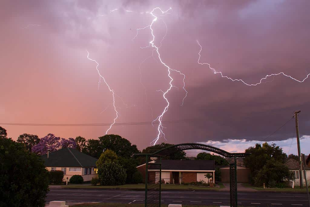 Hi everyone I thought I would share a photo I took from my front yard on Friday 6th November, I got quite a few bolts as the storm moved through. Taken in Warwick, Queensland, Australia