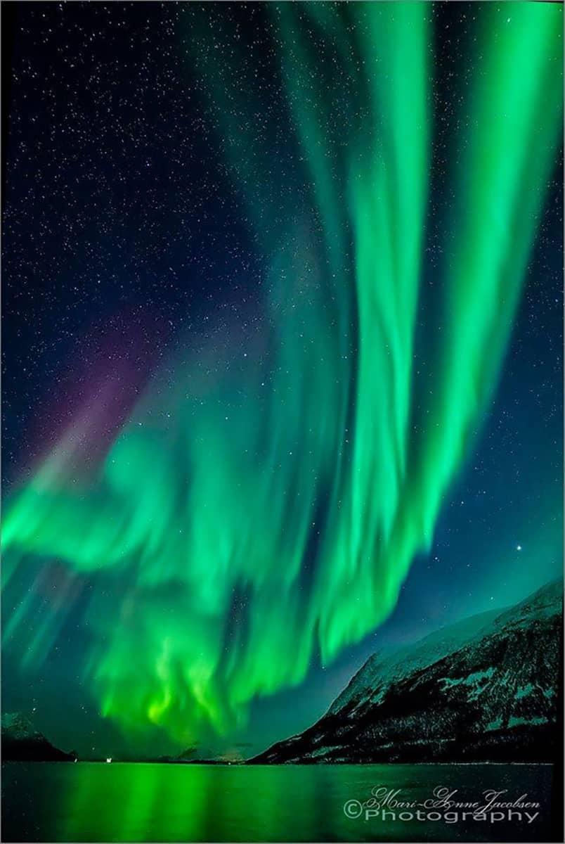 Aurora. Still reporting from Tromsø Nort of Norway