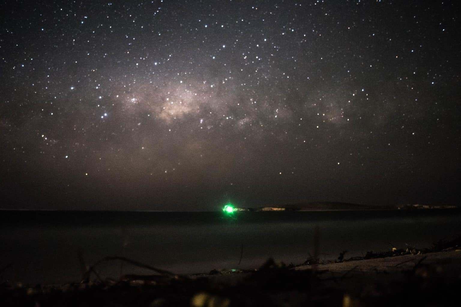 milkyway over the Indian ocean #westernaustralia