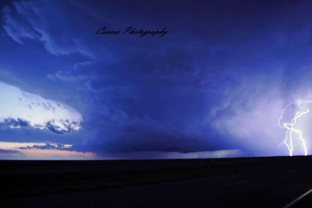 Supercell near Groom TX 11/16/15. This will go down as one of my best chases ever as well as the first November tornado I ever got!