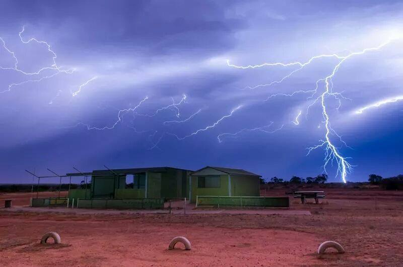 I got this shot in a my home town in South Australia.