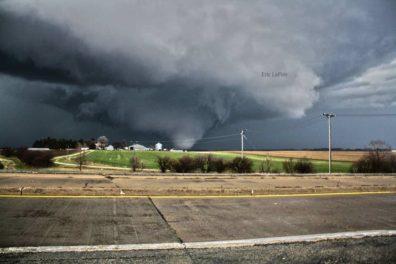 Rochelle / Fairdale Ef-4 tornado from April 9th 2015