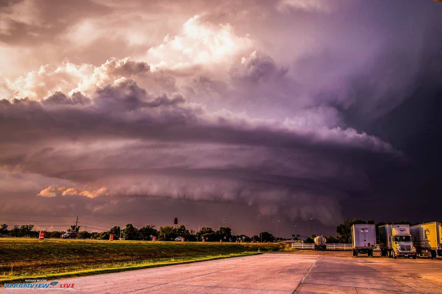 As promised from yesterday's photo this is from near the Grand Island, NE in September 9th earlier this year but right before I went in for the shot you saw yesterday
