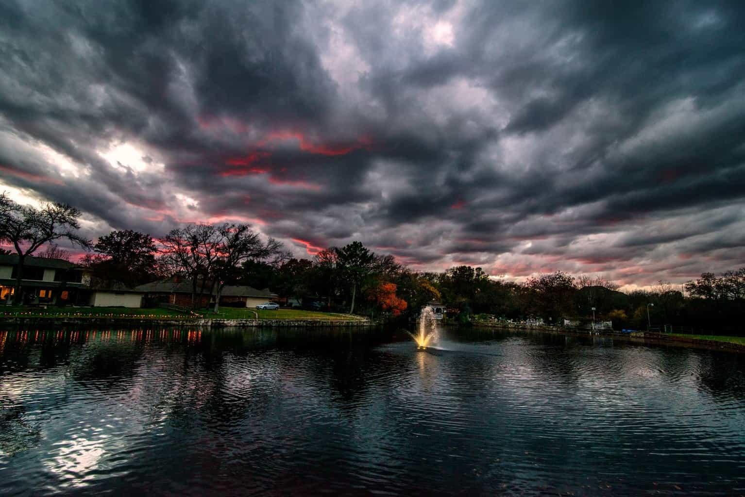 Todays sunset from Arlington, Tx :O)