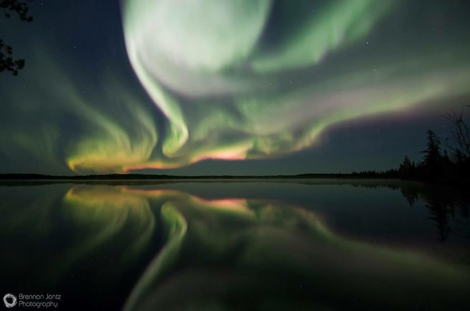 Incredible aurora display on a recent trip to northern Manitoba. The Northern Lights never get old!
