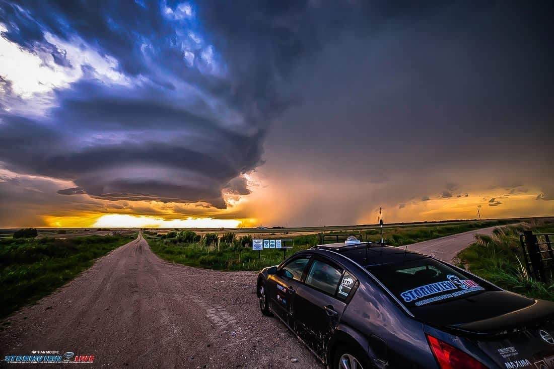 July 10th, 2015 near Cambridge, NE. One of the craziest looking storms I have ever seen. This thing just had a mind of its own. No the aliens are not coming.