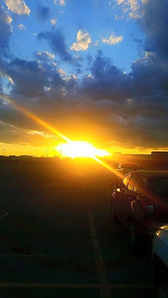 Denton, tx sunset. So pretty.