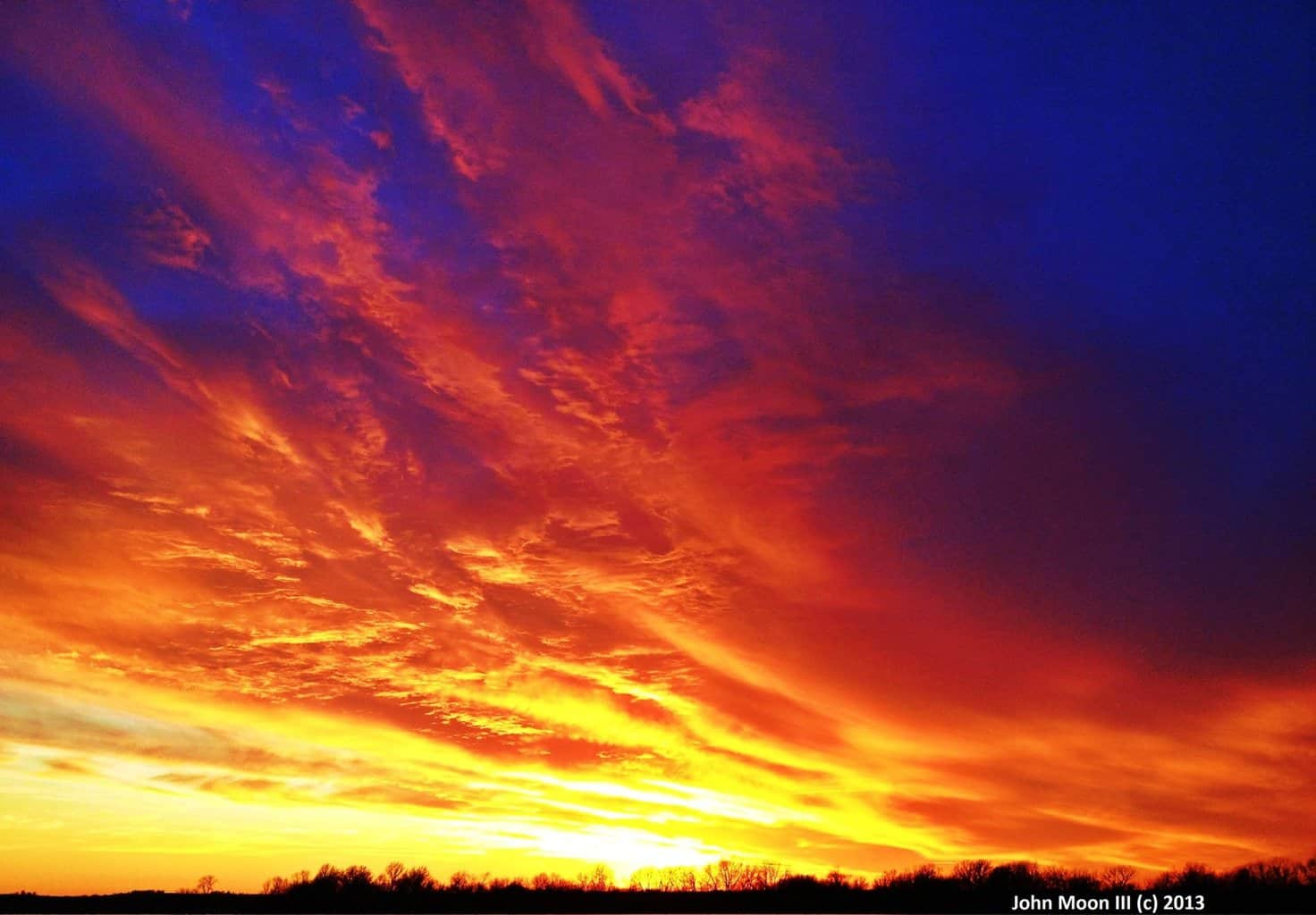Hello everyone, I have not posted on here in quite some time. Today I have a sunset photo to share with you. This is a beautiful winter sunset taken in December of 2013. This was taken just outside of Clinton, Mo. As always, I hope you guys enjoy!