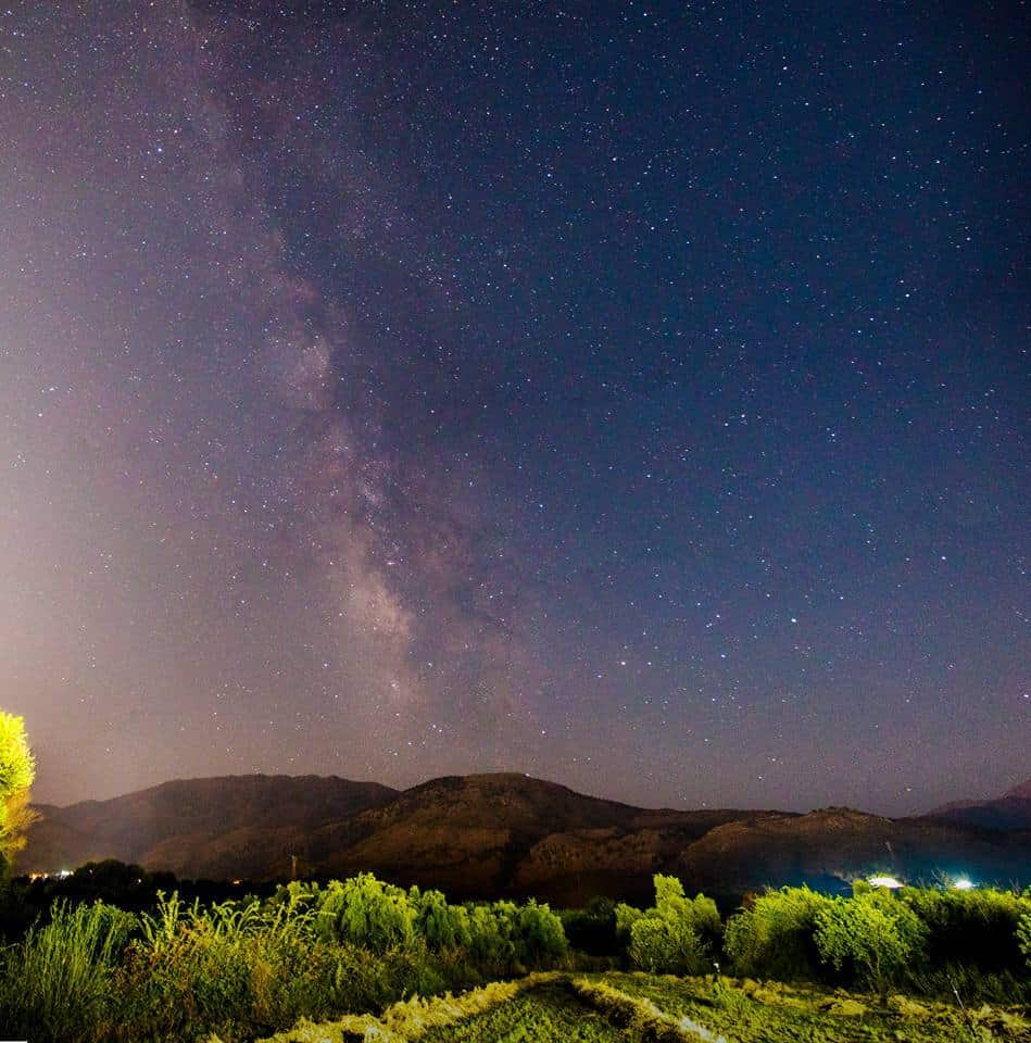 My first ever try to photograph the milkyway, is not the best but turned out suprisingly well. Shot from Crete, Greece on 4th of August 2015.