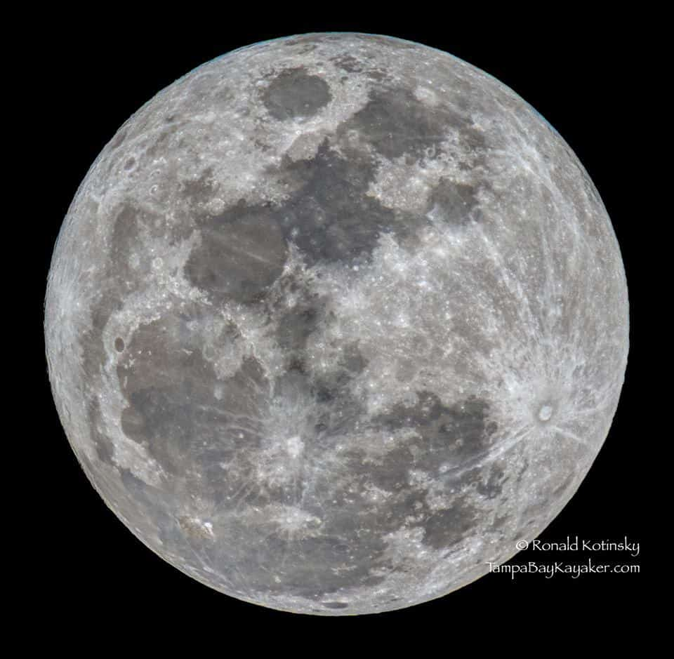 1-23-2016 - Full Moon Shot - Valrico, Florida - 800mm