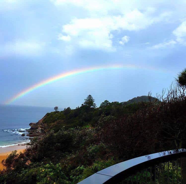 Over the rainbow  Northern beaches - Australia