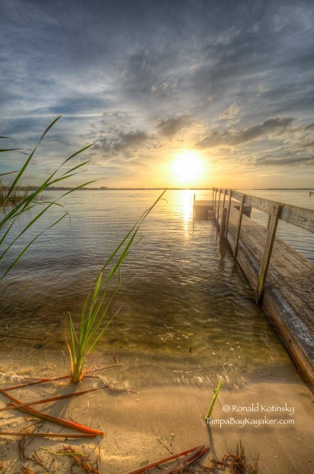 Sunset at the Lake - Mount Dora - 12-29-2015 — with Donna Kay Farrar in Mount Dora, Florida.