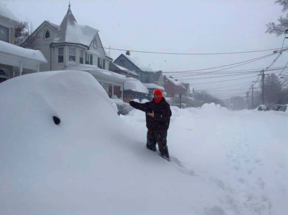 Greetings from Frederick Maryland, where nearly 40 inches of snow has fallen, and snow drifts are bigger than me.