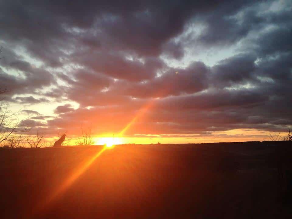 Dec 15th sunset in SE kansas. Happy new year!