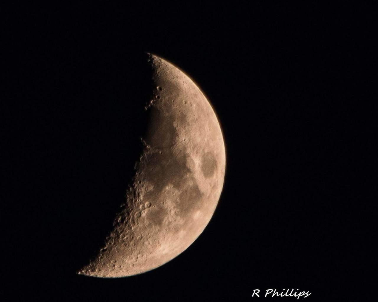 Moon over San Antonio tonight.