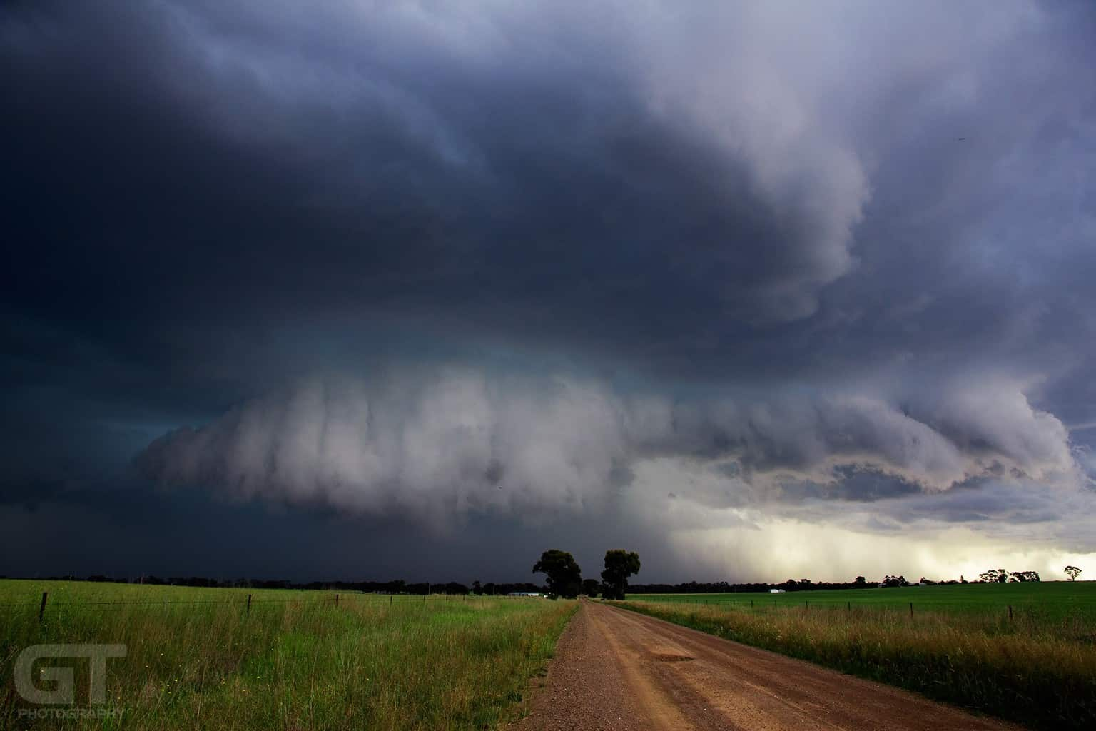 Over four years later and still one of my favourite storms. This was shot back on 22nd October, 2011 in Leichardt, Victoria, Australia. A nasty little isolated cell that was loaded with hail.