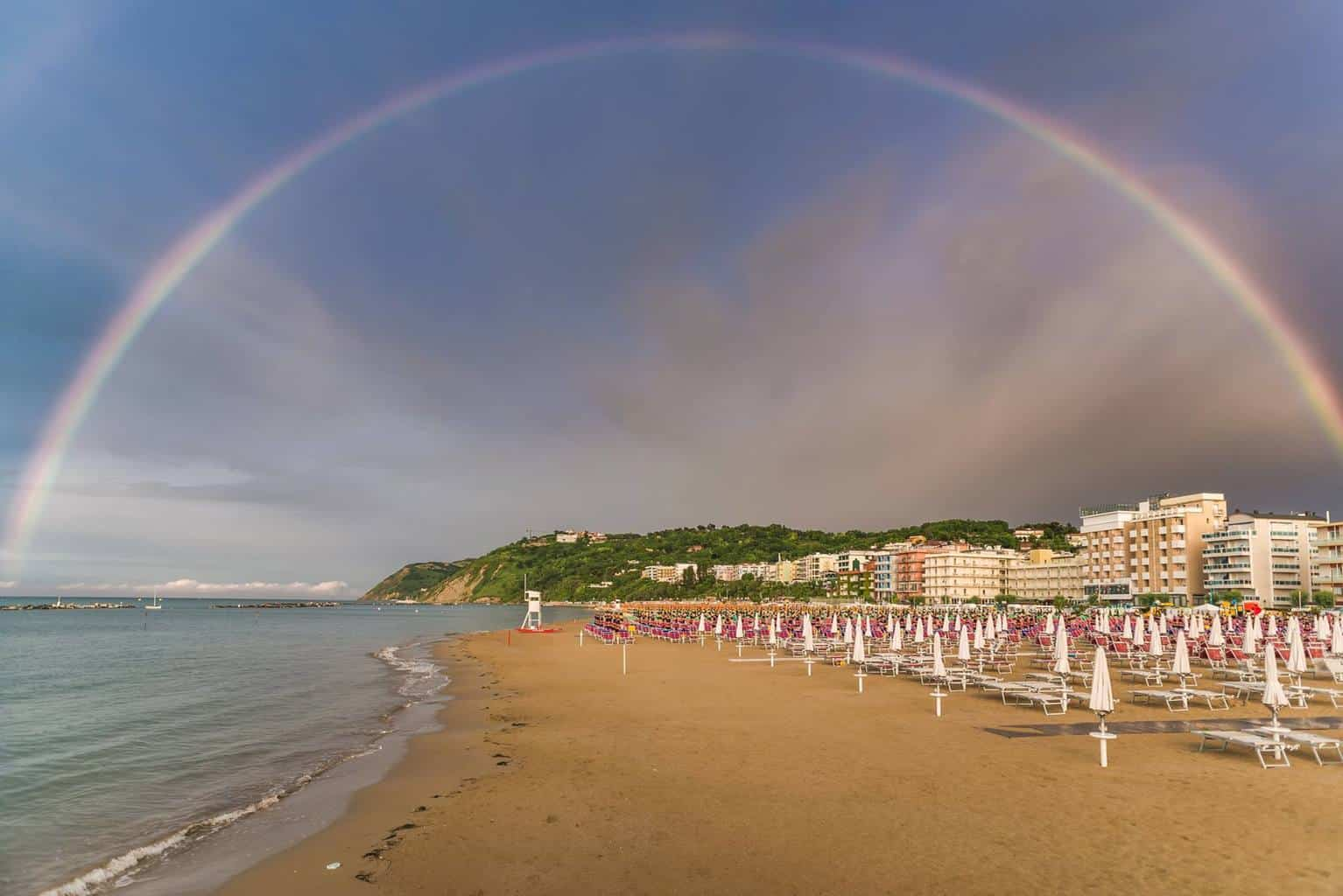 After the storm.... Gabicce Mare,Italy july 2014