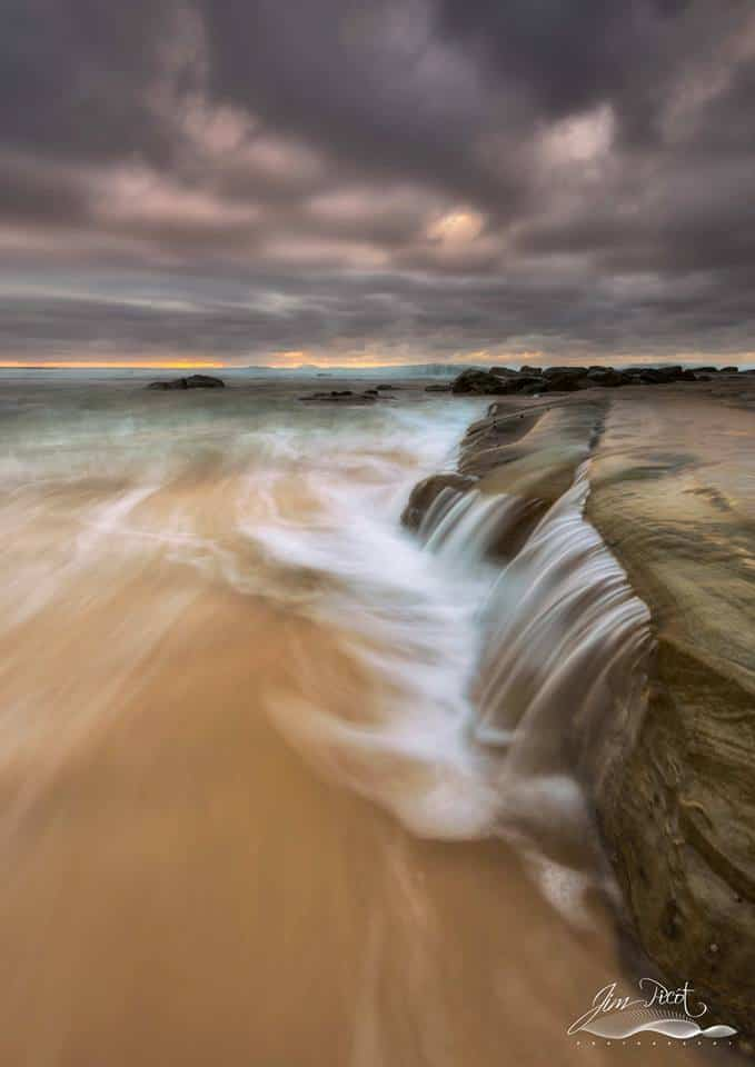 Recent image taken just after sunrise at Forrester's Beach, Central Coast.