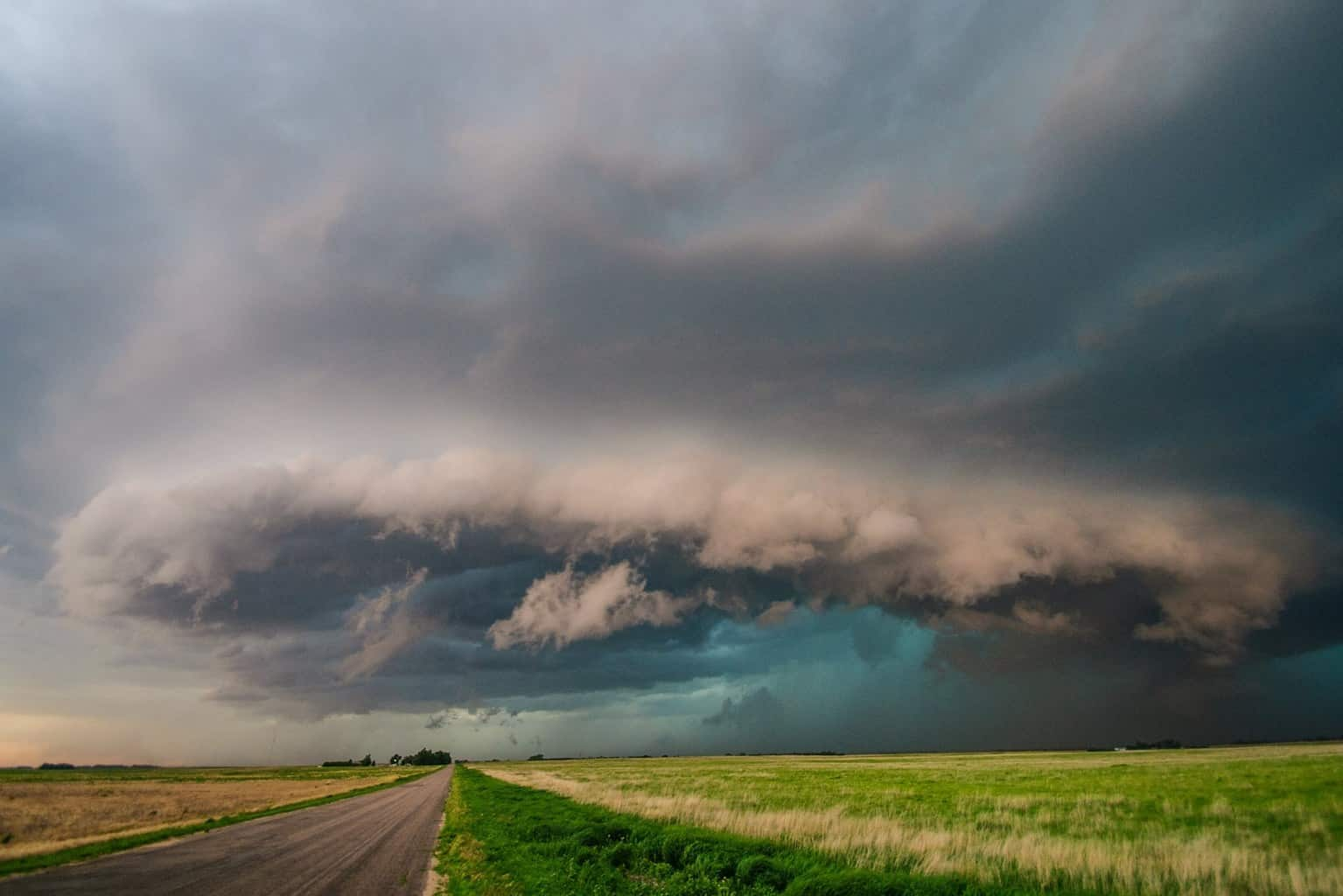 June 2009, western NE colorful HP supercell