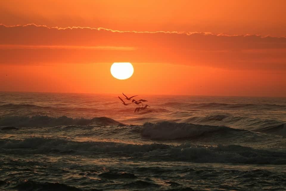Sunrise 2/20/2016 — in Pensacola Beach, Florida.
