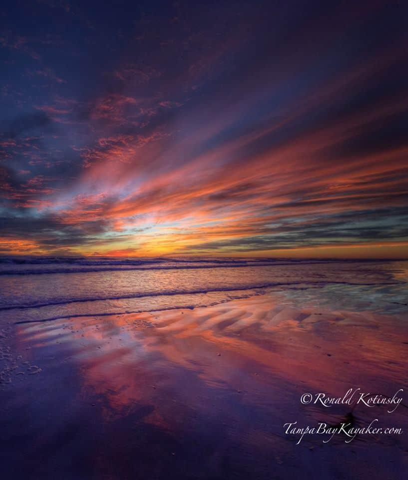 Twilight After Glow - Siesta Key - Jan 2016 —at Siesta Key Beach.