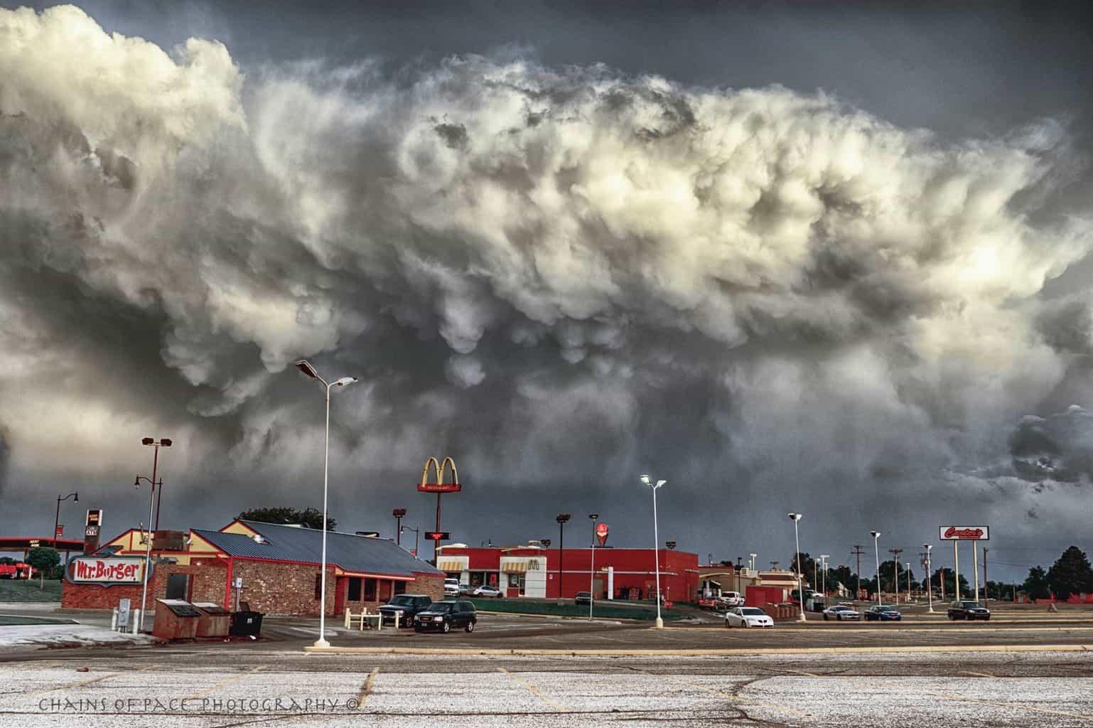 this storm followed me home.....Guymon, OK .... 6-4-2015