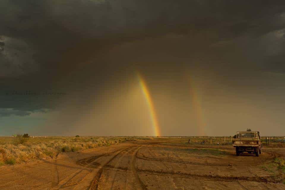 So on the way some pre Christmas drinks about 5 years ago. This localized storm popped up.Managed to capture this shot.*I Have cloned out a powerpole and lines that was in the shot*
