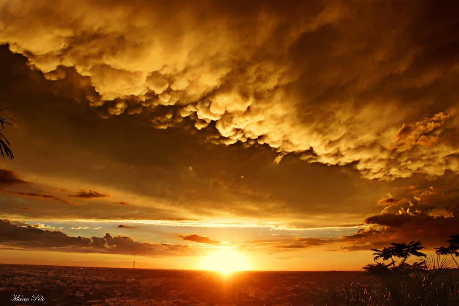 Sunset. Sinaloa, Mexico.