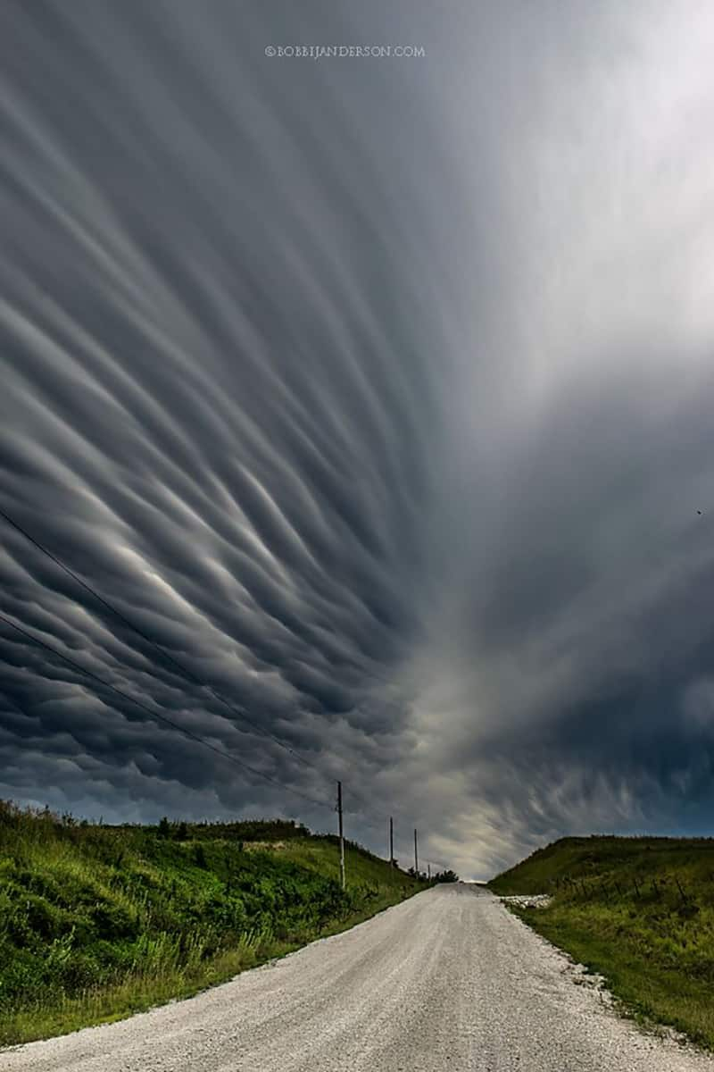 """Mammatus Road"" Shot in Eastern Nebraska last fall."