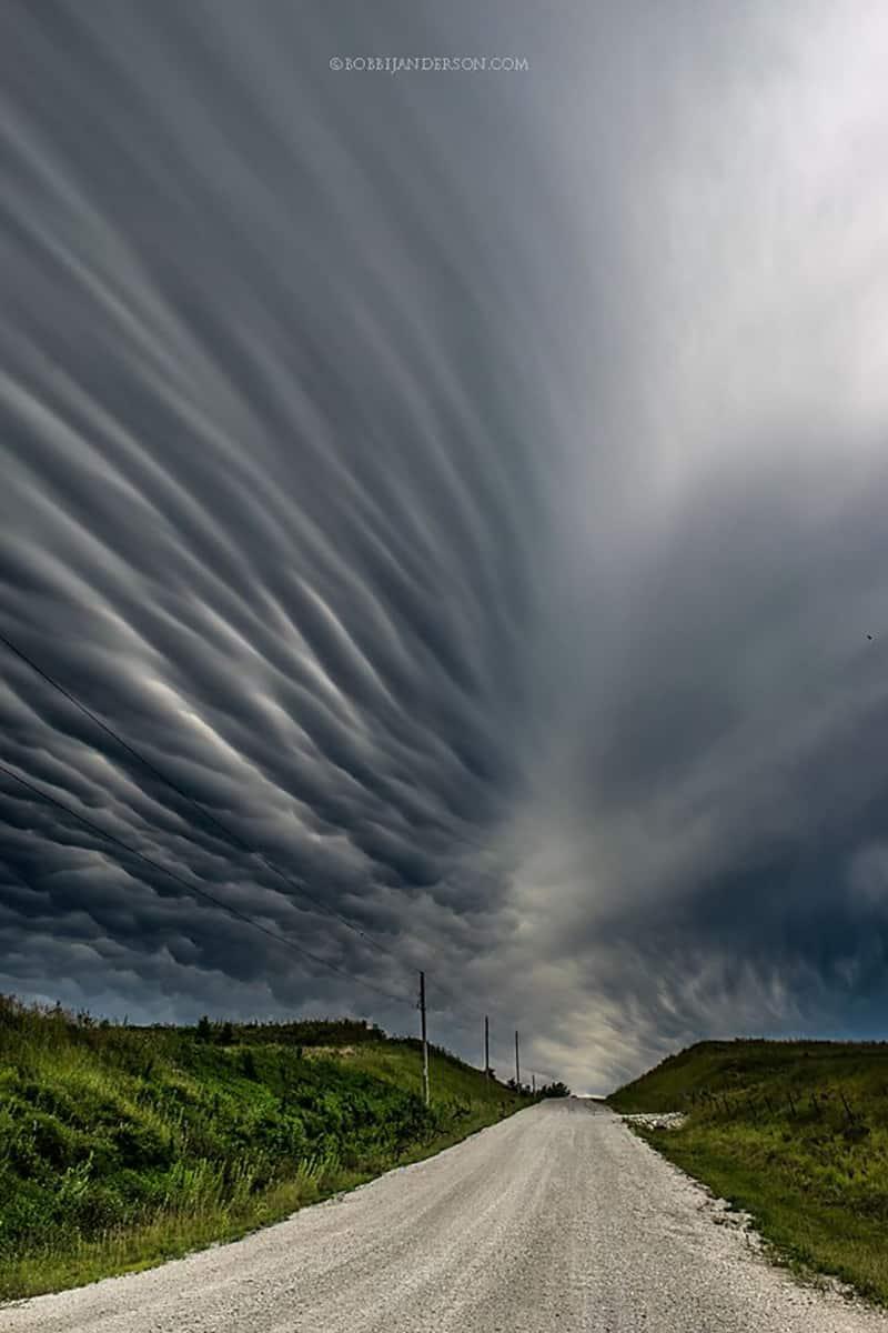 """Mammatus Road"" Shot in Eastern Nebraska last fall."