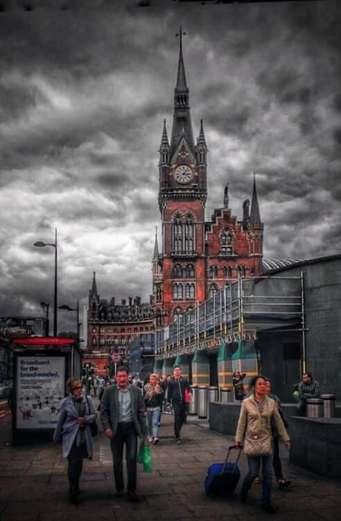 Cloudy Kings Cross