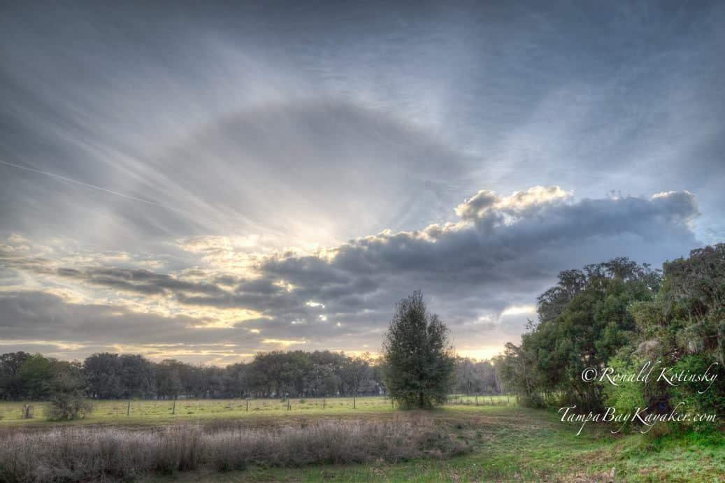Sunrise in Florida - 3-10-2015 — in Valrico, Florida.