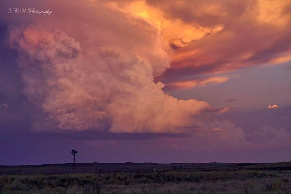 Storm, Texas Panhandle.