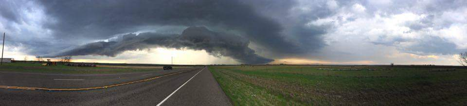Caught this storm just west of Gatesville Tx today. Was truly an amazing sight! 3-8-16 — with Dustin Rhodes.