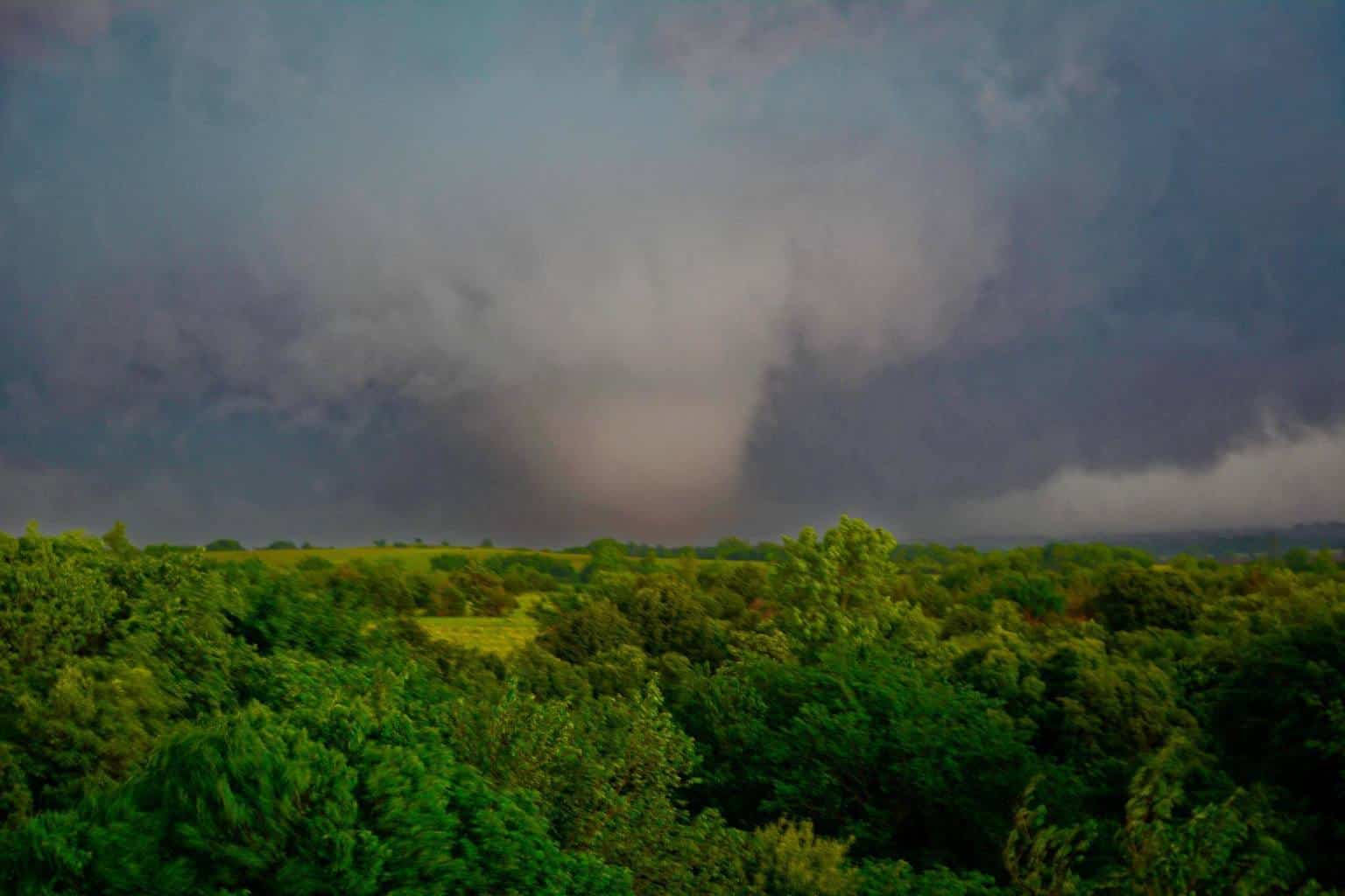 One of my favorite photos from last year; May 6th, 2015 near Bridge Creek, OK.