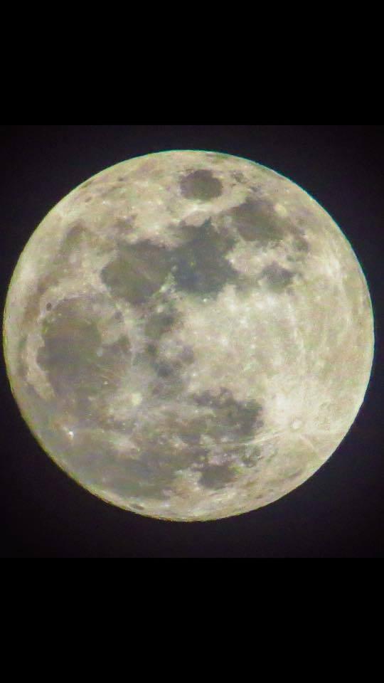 Last nights moon over western ky