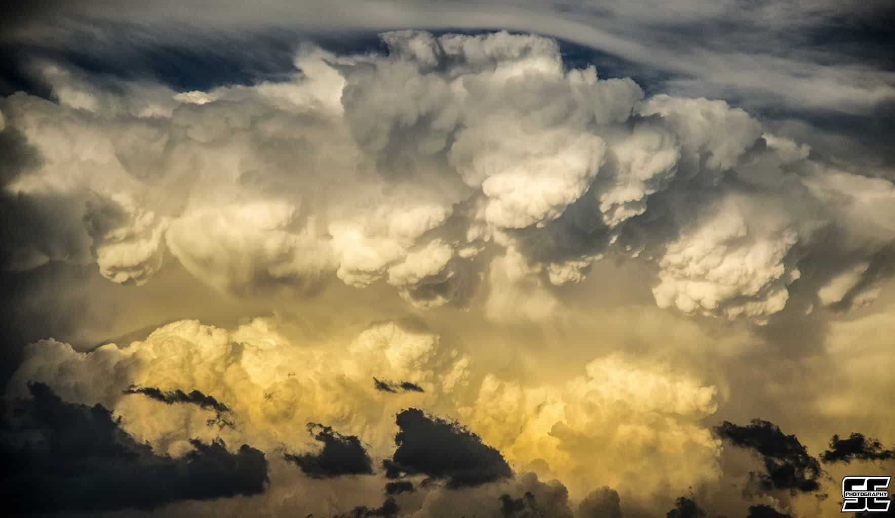 Late afternoon convection erupting in western Nebraska back on June 3rd, 2014.