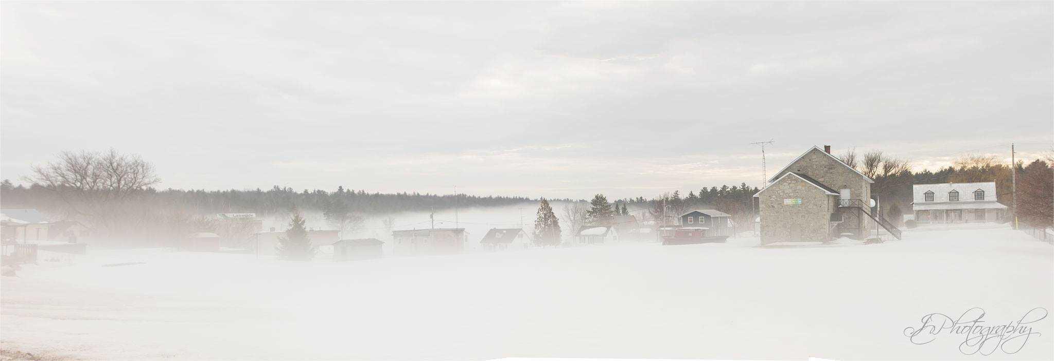 Mysterious Fog last week — in Portage-du-Fort, Quebec.