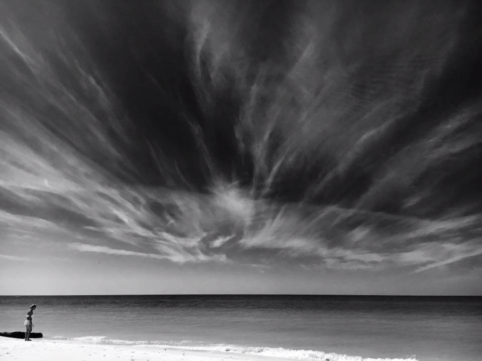 Neat clouds over the Gulf of Mexico. Taken 3/7/16 from Anna Maria Island, FL
