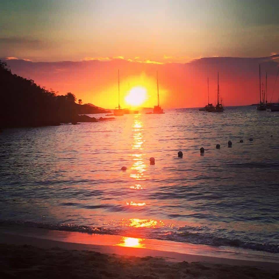USVI Sunset