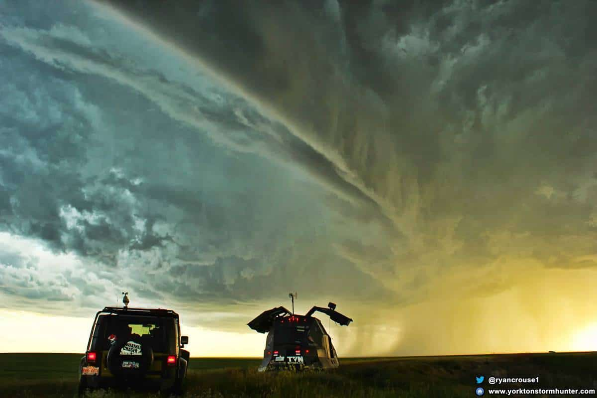 July 23, 2014. Chased a Severe Warned Storm around Consul Sk. Canada from within the Dominator 3 This storm was just crazy awesome and had some large damaging hail as well as intense structure!