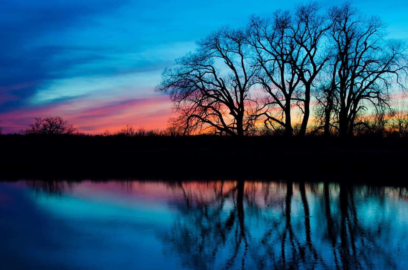 Tonights sunset, This was taken in Blanchard OK. Hope everyone enjoys it.