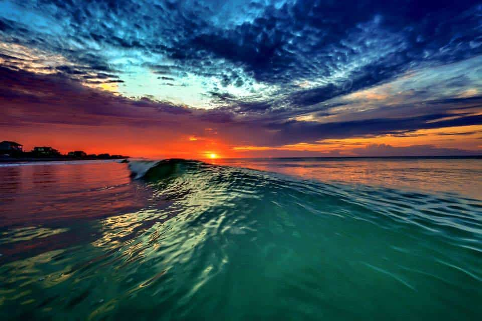Can't wait for summer, missing sunrises in the ocean!