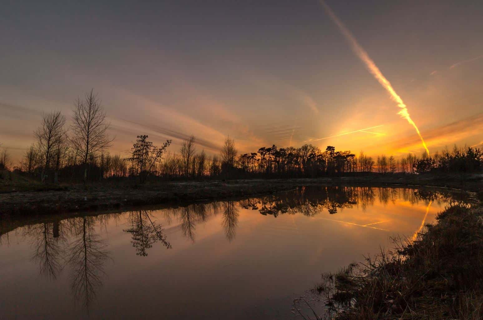 Dutch evening colors.. (Twente)