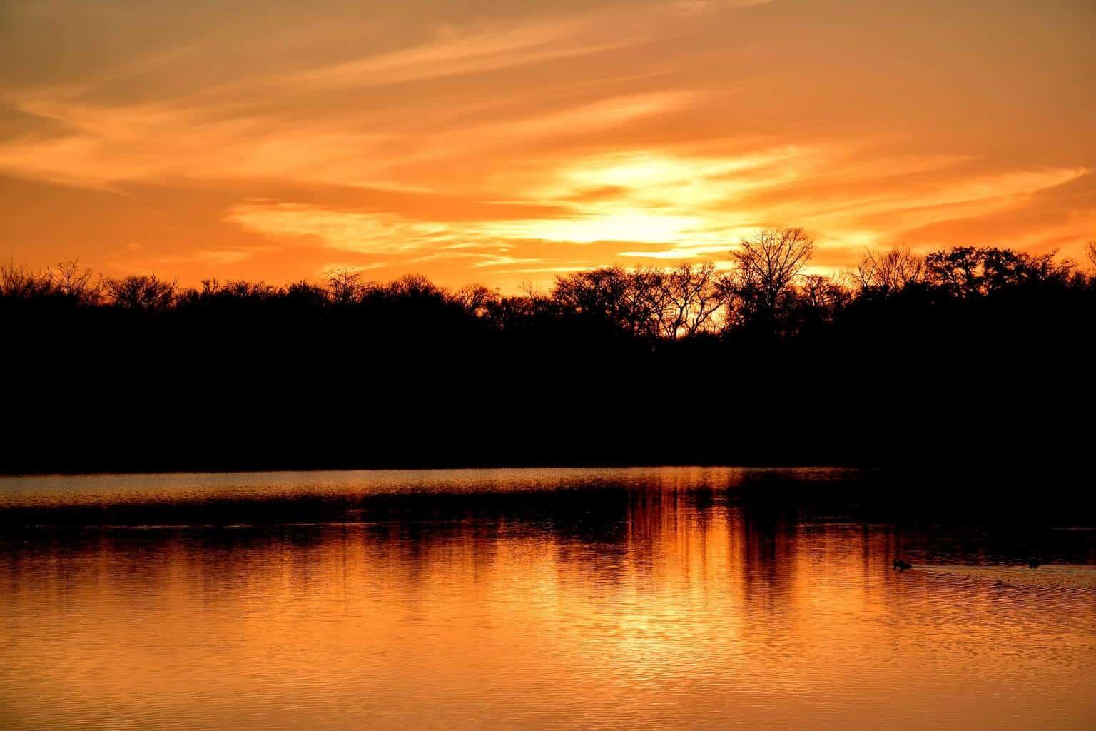 "Sunset Tonight, 25 miles West of ""The Alamo"" 2-24-2016"