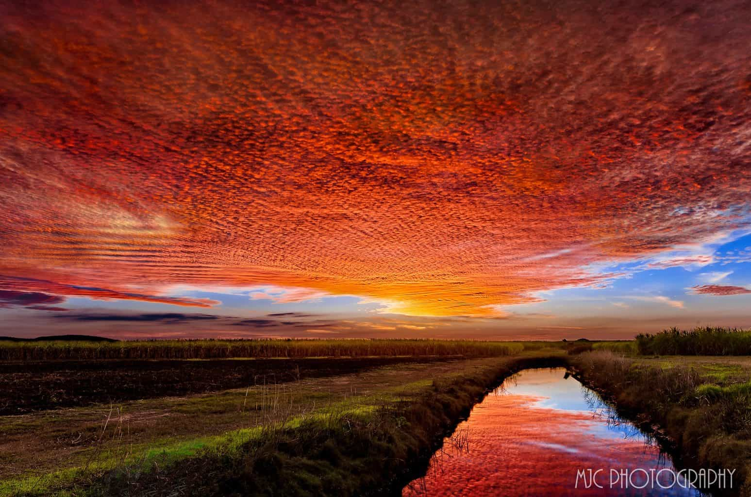 Thanks to James Chambers for reminding me of this amazing sunset in May last year.. Such a beautiful mackerel sky, just hope this winter provides a few more.. Jacobs Well Qld Australia 29/05/15