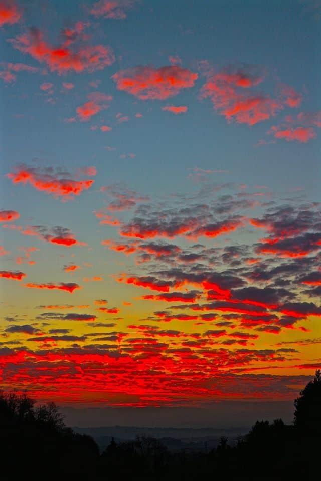 * Zig zag sunset *