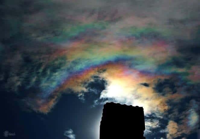 Iridescent cloud  2014.08.25 Sarkad - Hungary