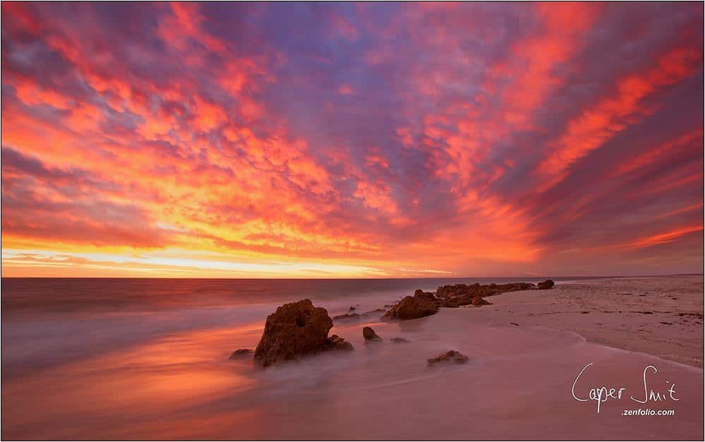 Sunset Quinns Rocks, Western Australia